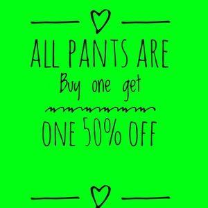 Jeans Dress pants straight leg bootcut highwaist